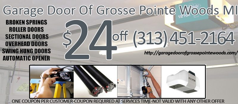 Garage door of grosse pointe woods fix opener garage door for Garage door repair grosse pointe mi